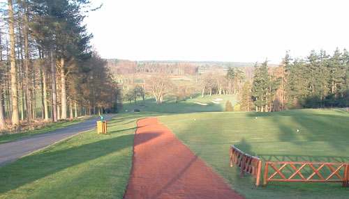 Golf Course Pathway Applications from Border Sports Services